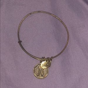 "Alex and Ani ""N"" bracelet"